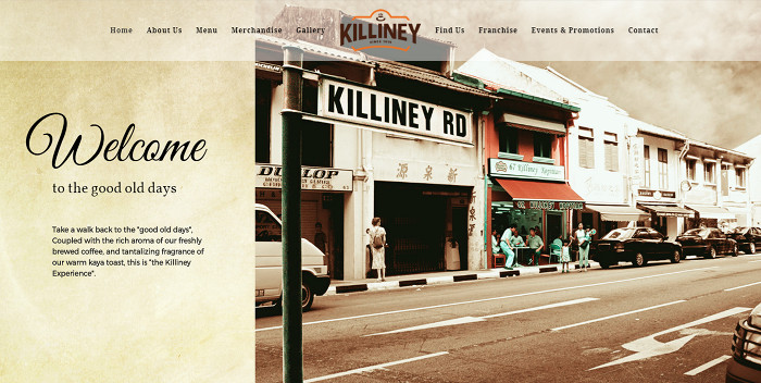 Alpha Web Portfolio - Killiney Kopitiam